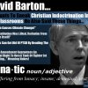 David Barton Evangelical Lunatic