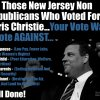 Christie Vote Against Your Rights