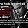 Rubio Plagiarizing War