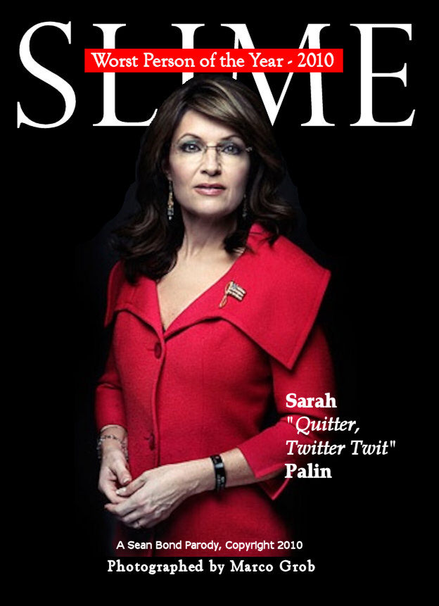 Slime Person of the Year Palin