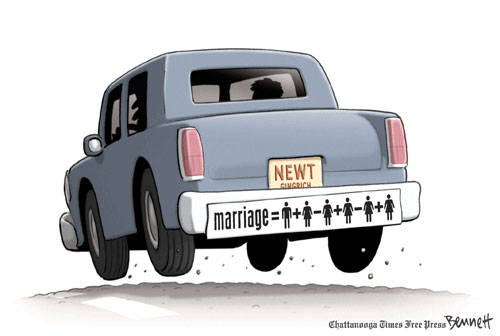Newt and Marriage