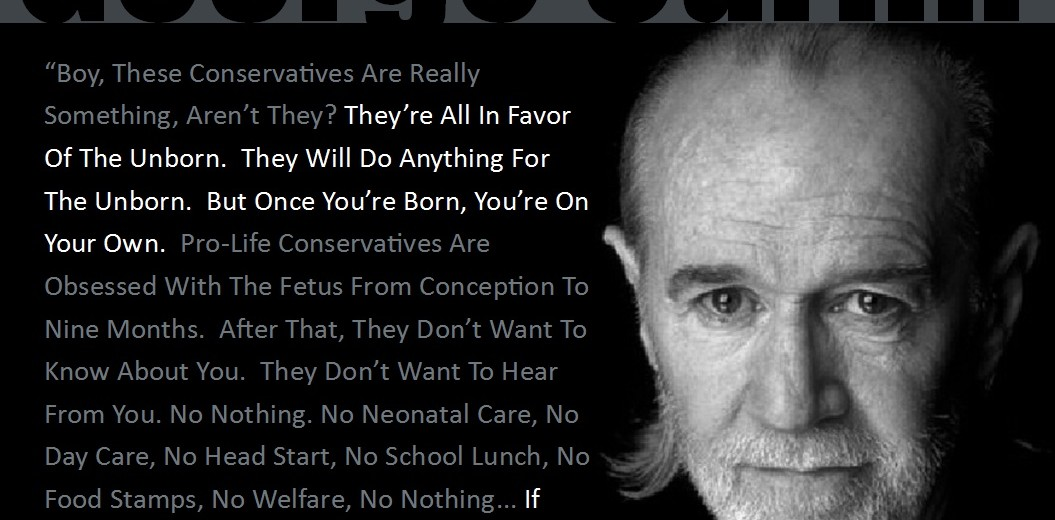 George Carlin Conservatives