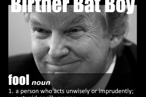 Birther Bat Boy