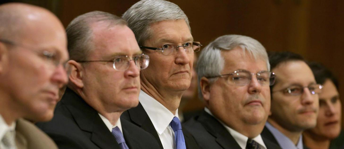 Tim Cook Apple hearing Getty Images